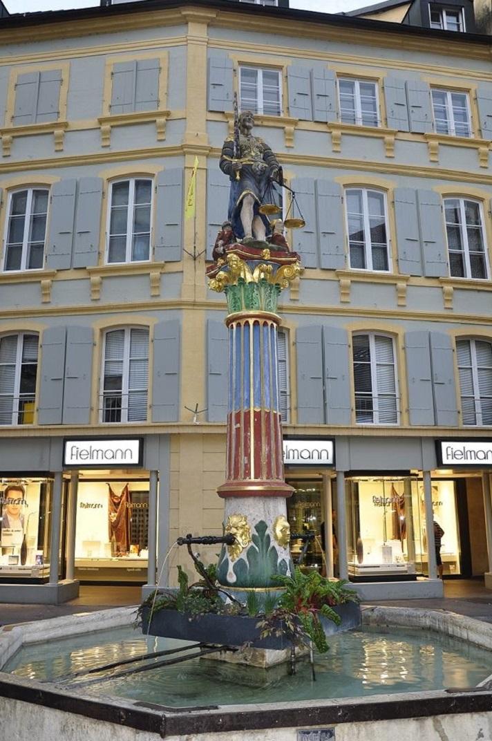 Font de la Justícia de Neuchâtel