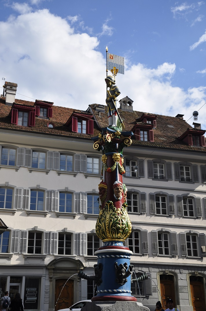 Font de la plaça de la Capella de Lucerna