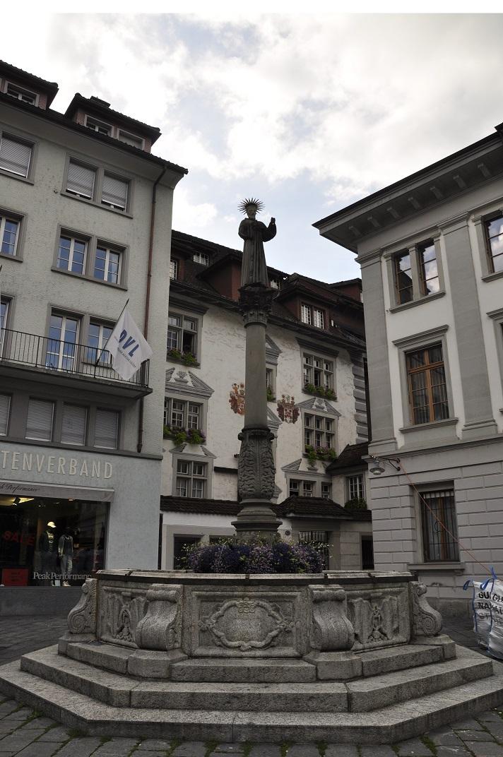 Font de la plaça Franciscana de Lucerna