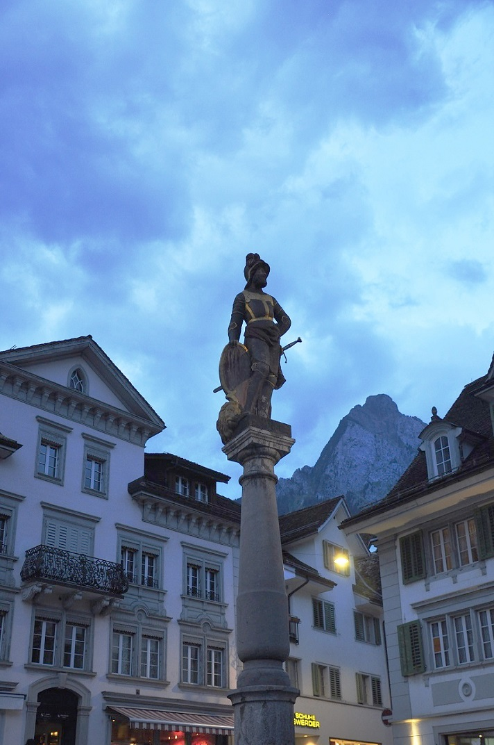 Font de la plaça major de Schwyz