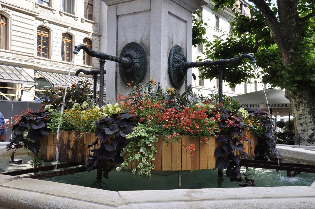 Font de la plaça Molard de Ginebra