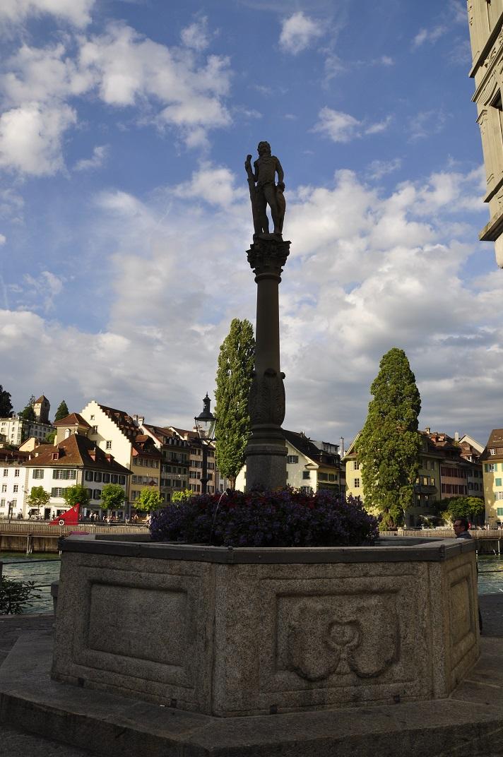 Font de l'antic arsenal de Lucerna
