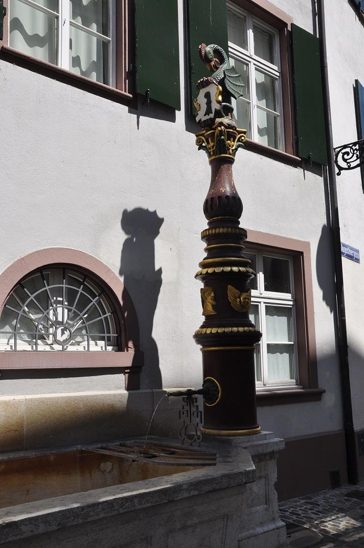 Font del carrer dels Agustins de Basilea