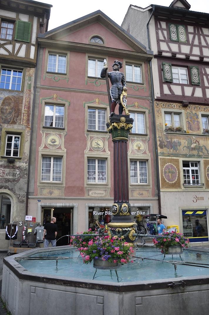 Font del mercat de Stein-am-Rhein