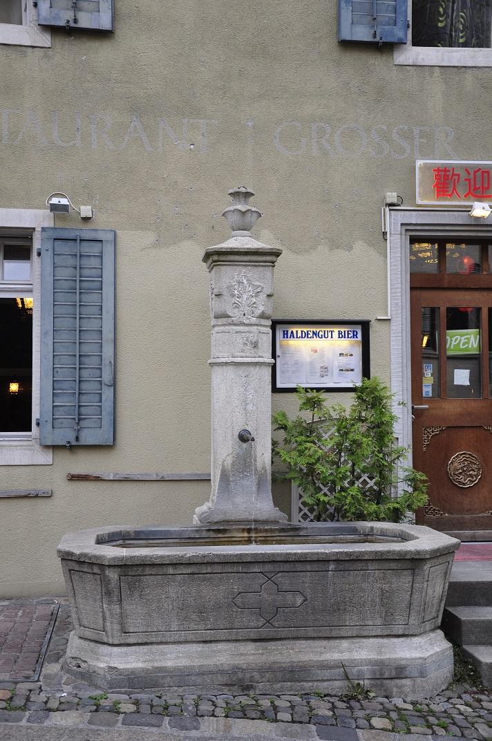Font del nucli antic de Baden