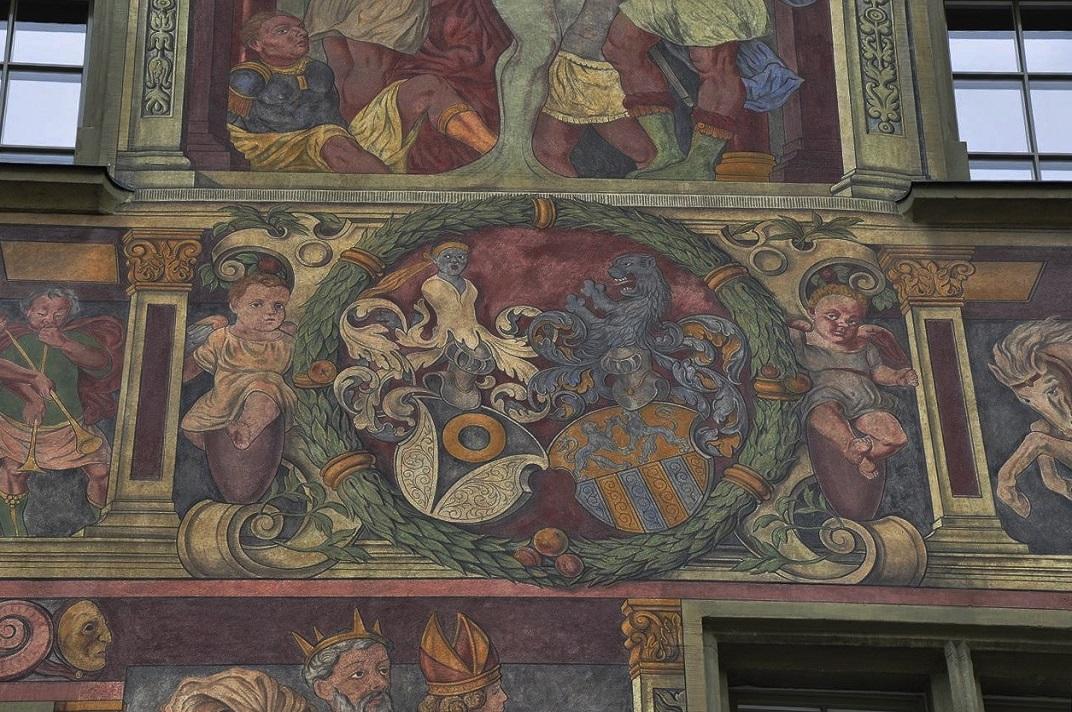 Frescos de la casa zum Ritter de Schaffhausen