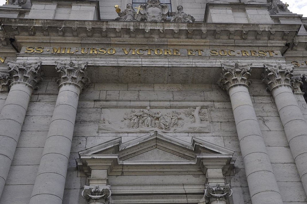 Fris de la façana de la Catedral de Solothurn