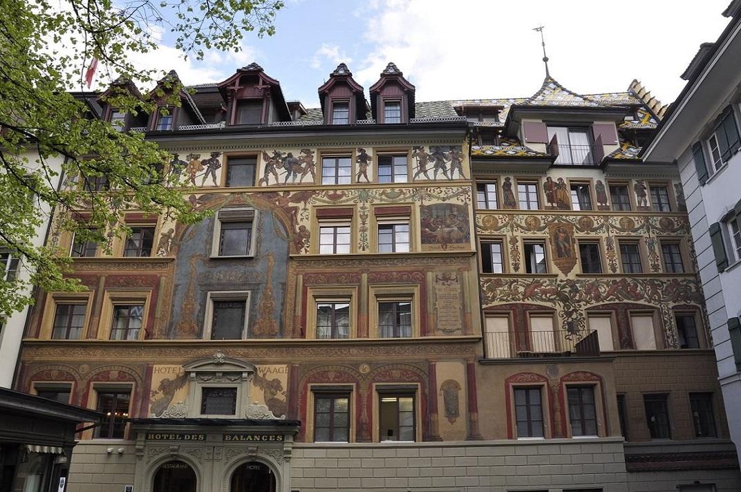 Hotel des Balances de Lucerna