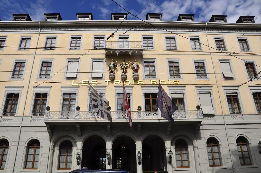 Hotel Les Trois Rois de Basilea