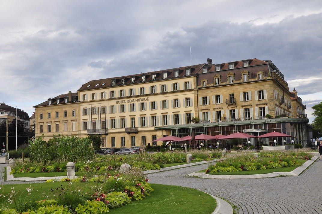 Hotels de la Belle Époque de Neuchâtel