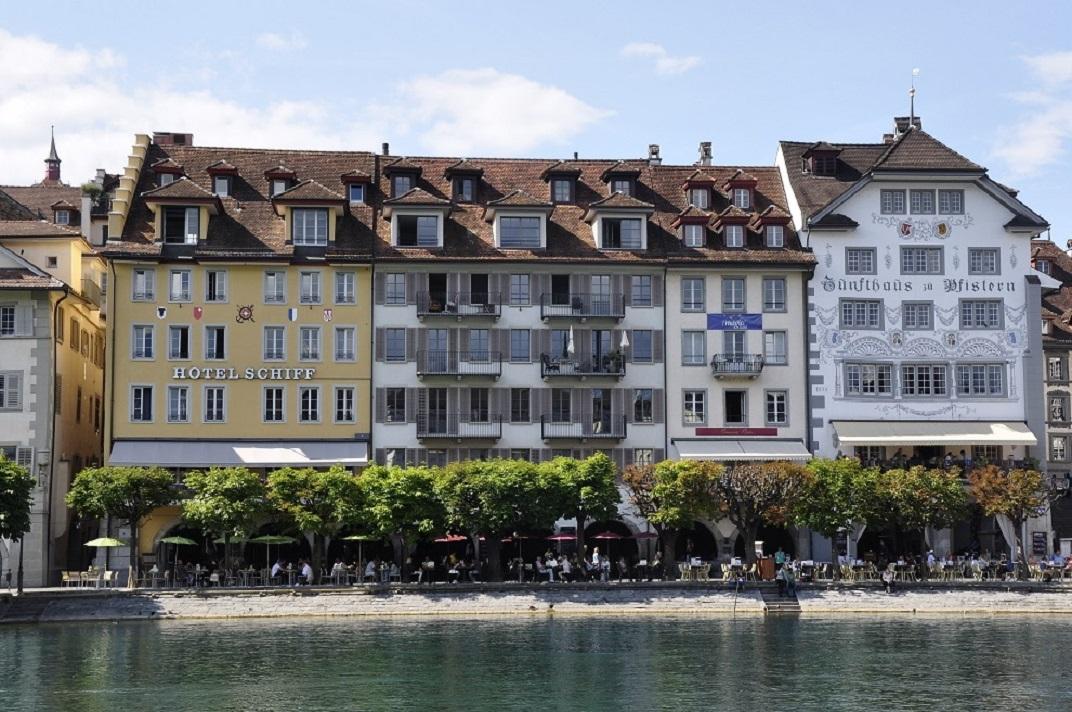 Hotels de la ciutat antiga de Lucerna