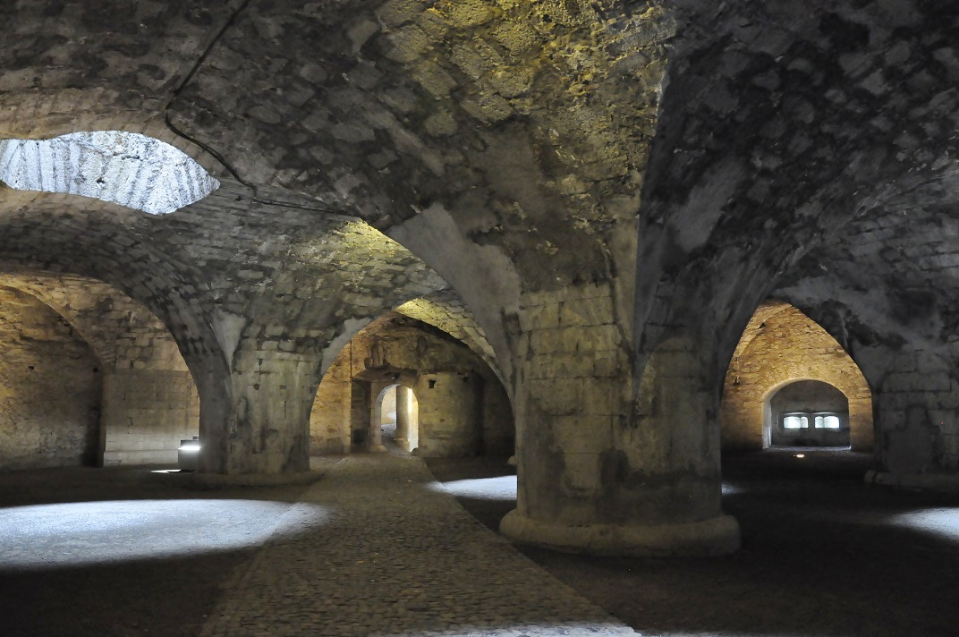 Interior del Munot de Schaffhausen