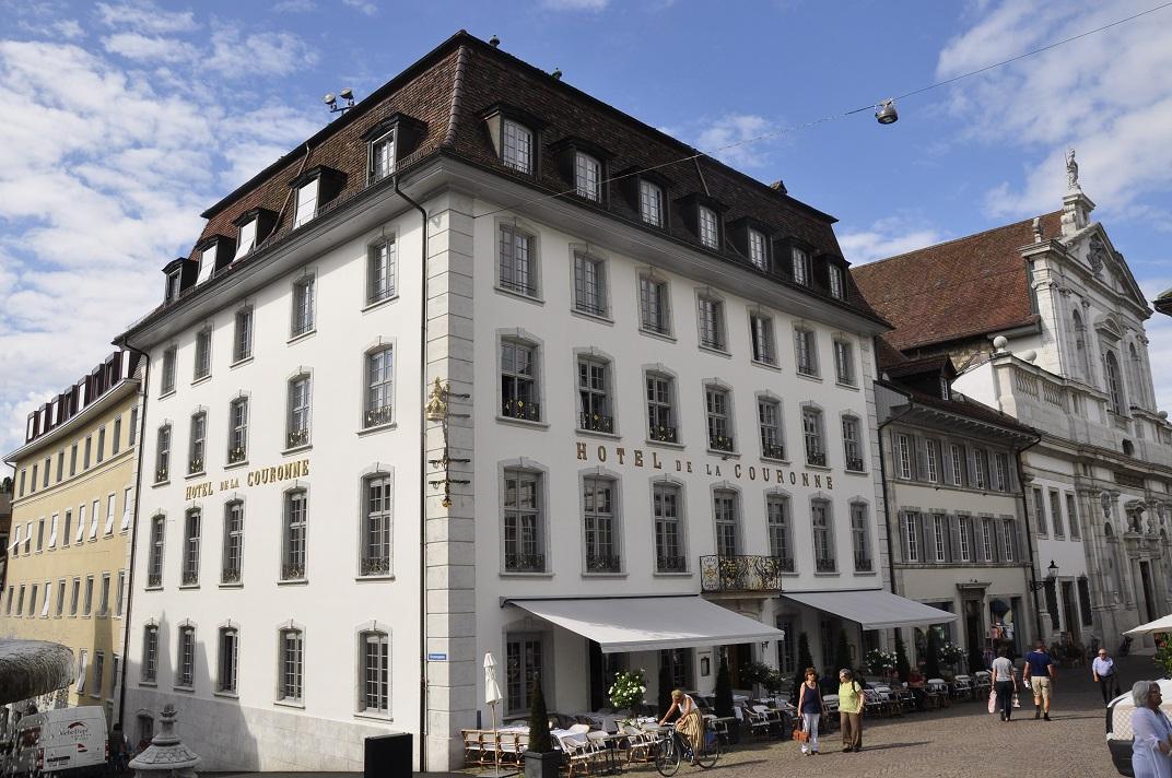 Kronenplatz de Solothurn