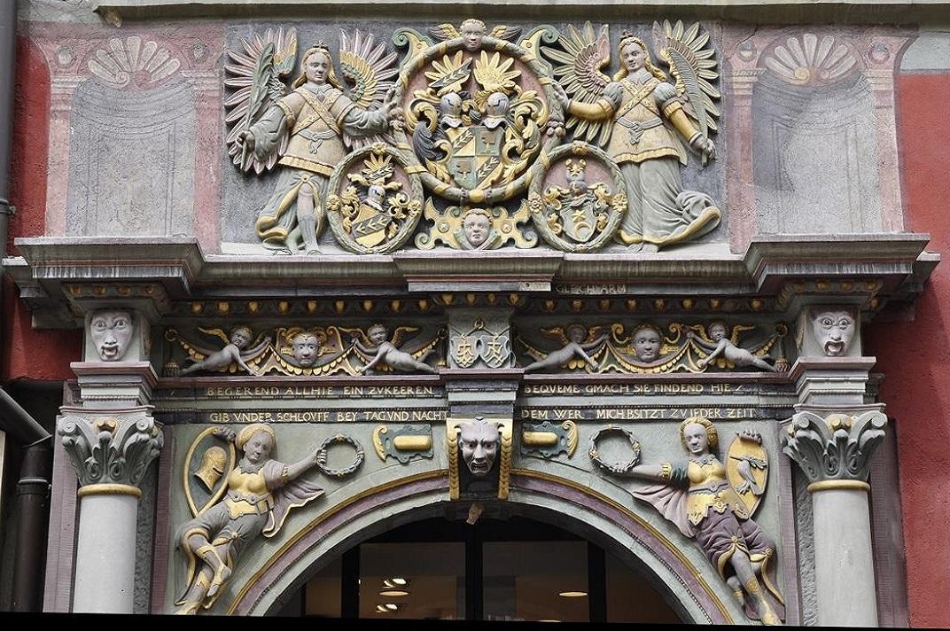 La casa del bou daurat de Schaffhausen