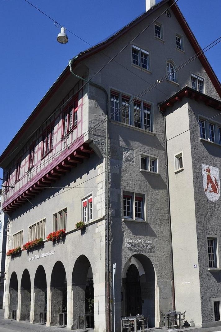 La casa gremial Haus zur Rüden de Zuric