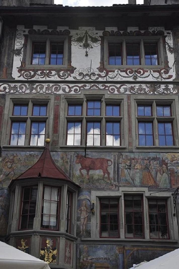 La casa Rother Ochsen de Stein-am-Rhein