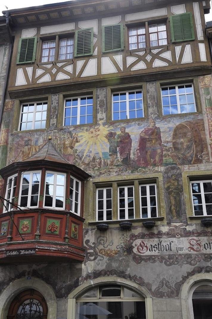 La casa Sonne de Stein-am-Rhein