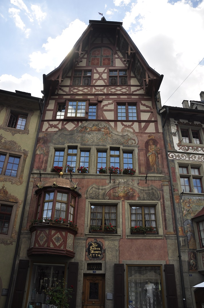 La casa Vordere Krone de Stein-am-Rhein
