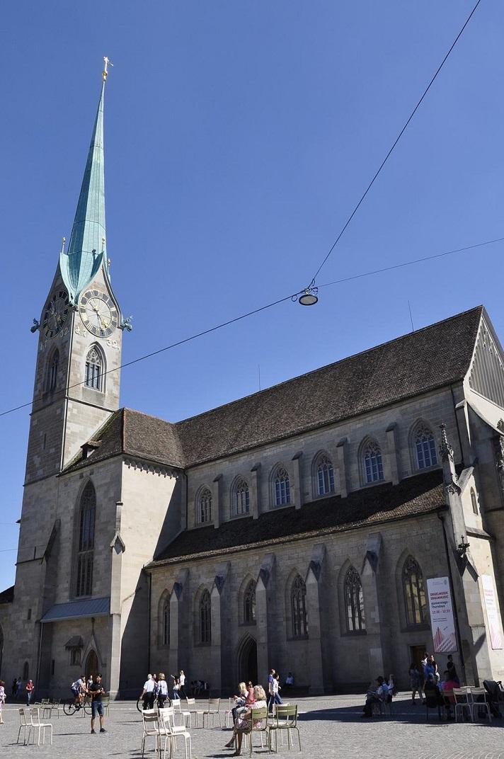 La Catedral de la Nostra Senyora de Zuric