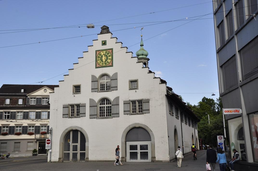 La duana de la Waaghaus de Sankt Gallen