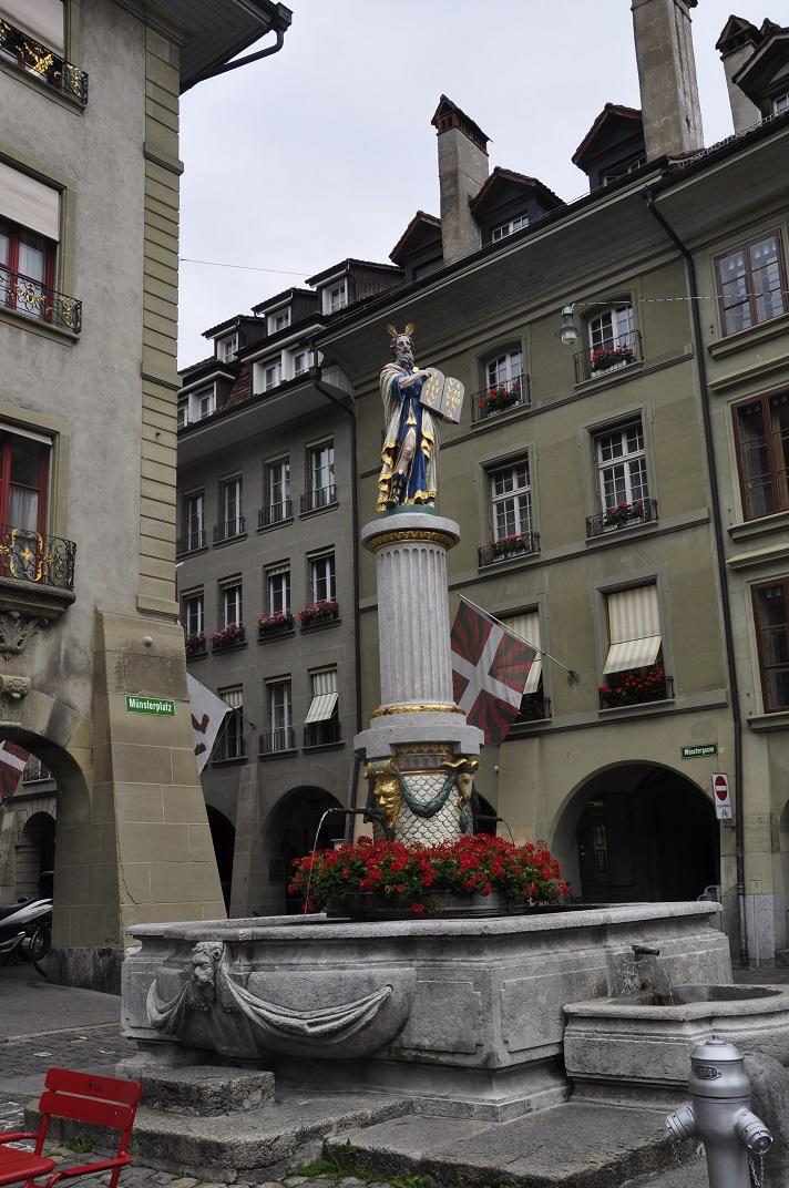 La font de Moisès de Berna