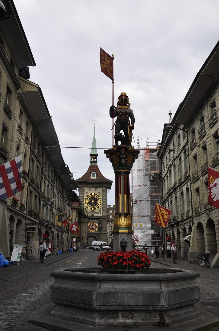 La font de Zähringer de Berna