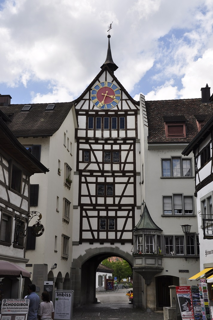 La porta Untertor de Stein-am-Rhein