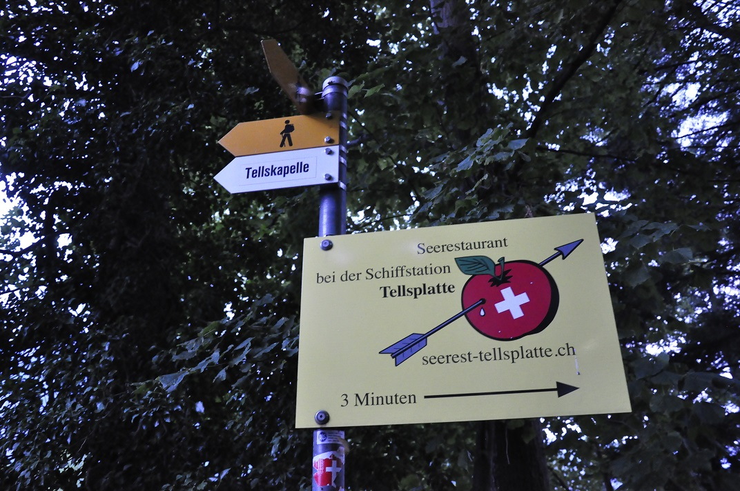 La roca Tellsplatte de Wilhelm Tell