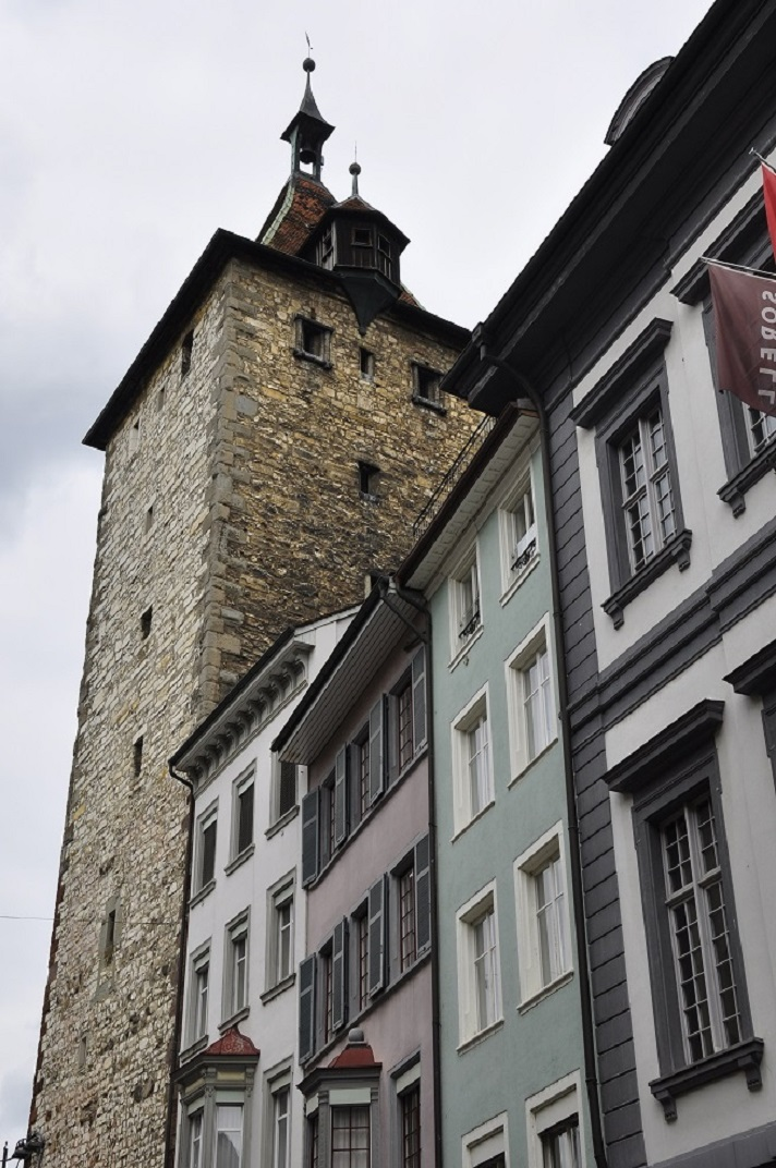 La torre Obertor de Schaffhausen