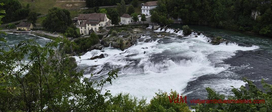 Les cascades de Rheinfall
