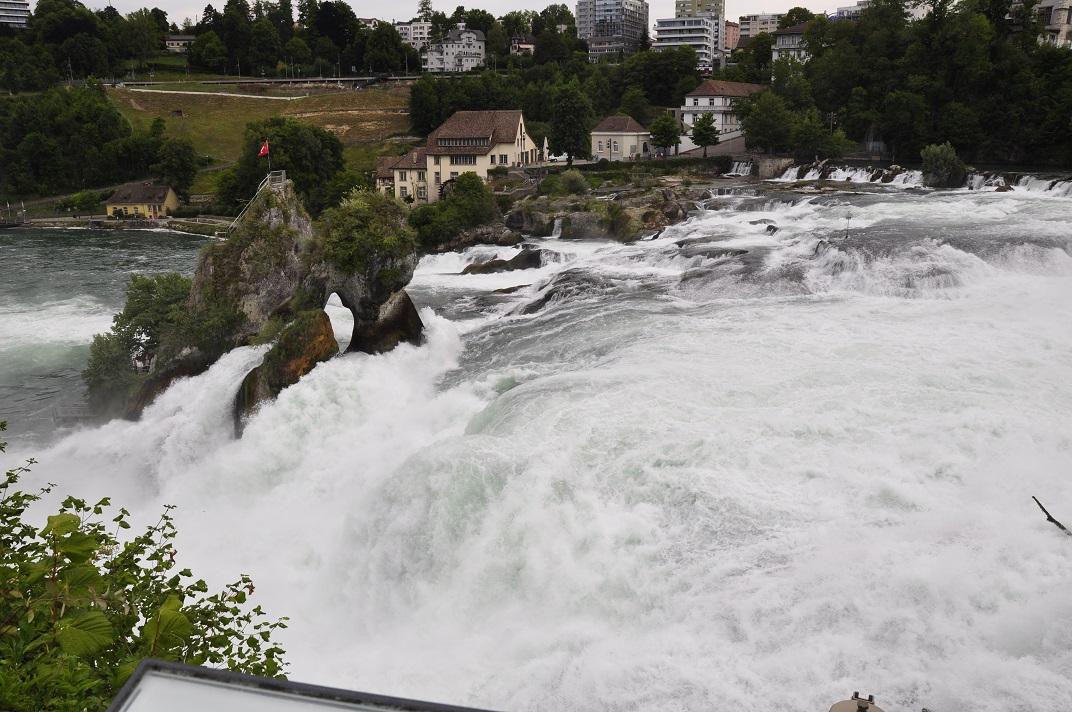 Les cascades del Rin o Rheinfall