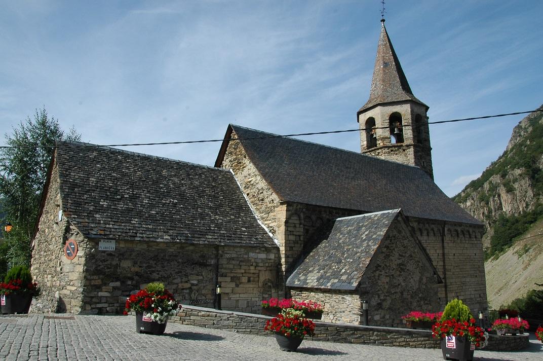 L'església de Sant Fèlix de Bagergue