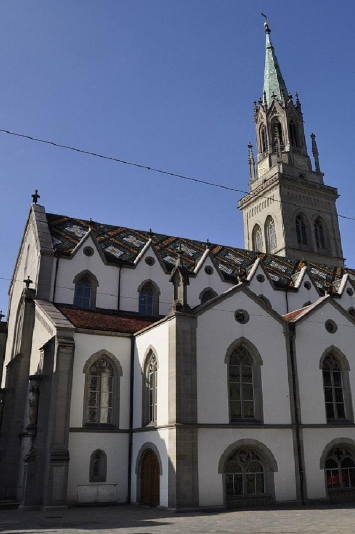 L'església de Sant Llorenç de Sankt Gallen