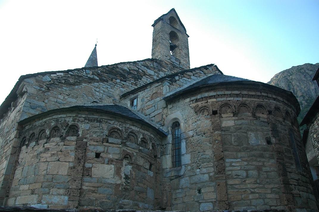 L'església de Santa Eulàlia de Unha