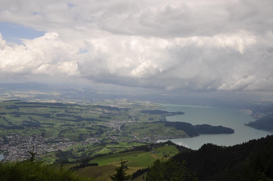 Llac de Zug des de la muntanya Rigi
