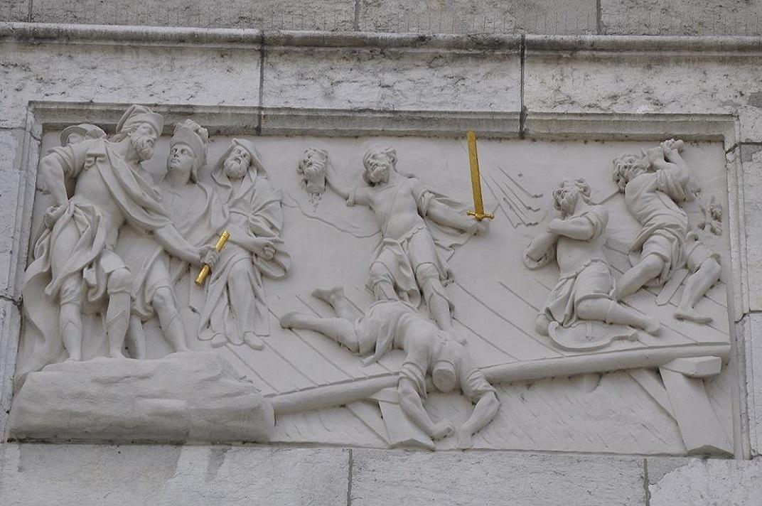 Martiri d'Urso i Víctor de la Catedral de Solothurn