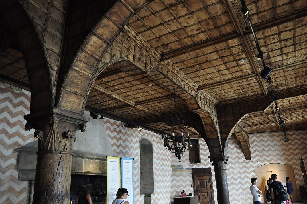 Menjador del Governant del castell de Chillon