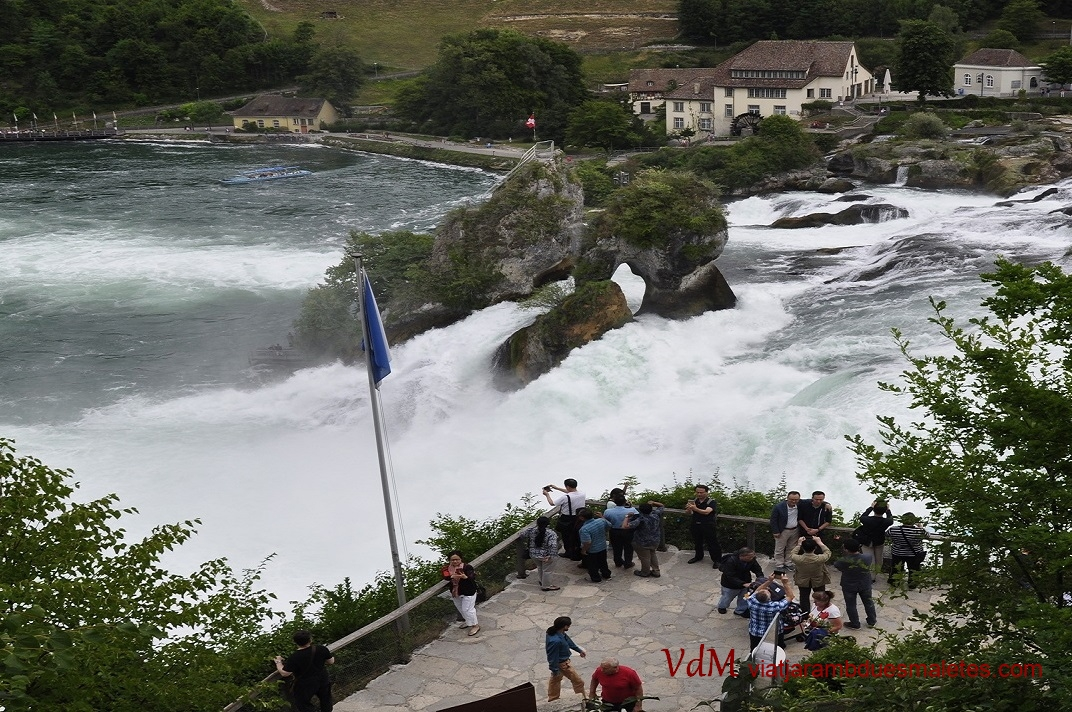 Mirador de les cascades de Rheinfall