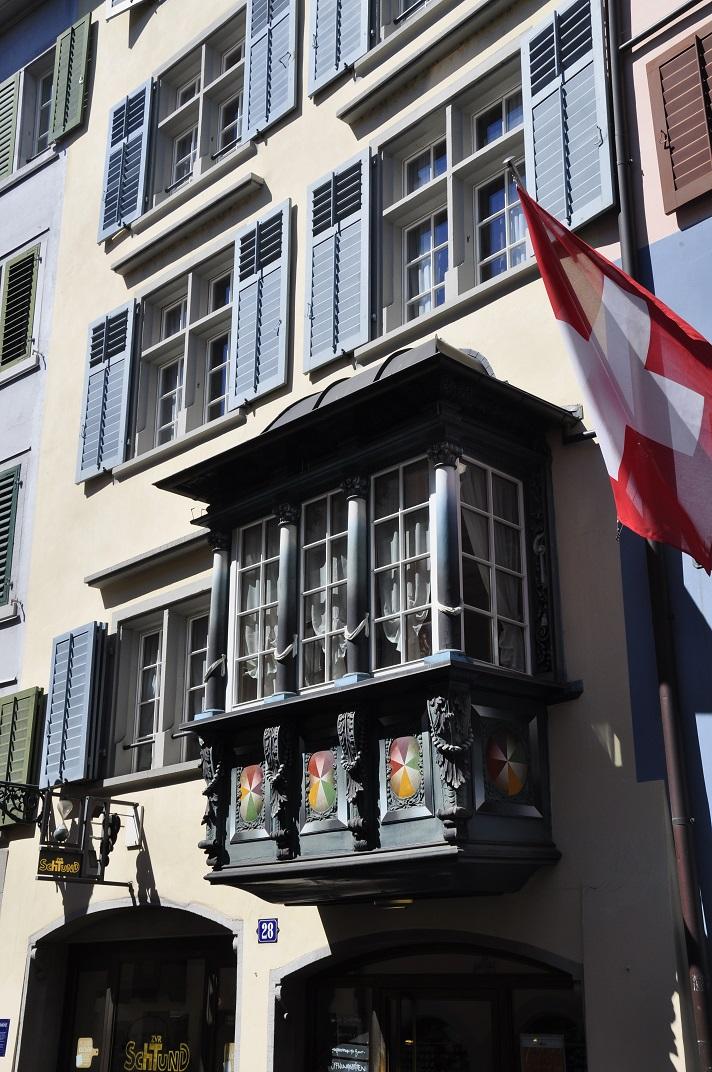 Mirador del barri antic de Zuric