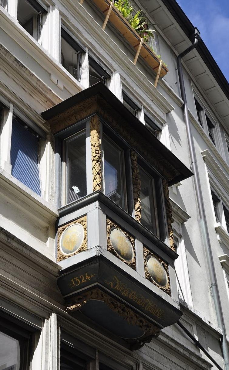 Mirador del barri de Niederdorf de Zuric