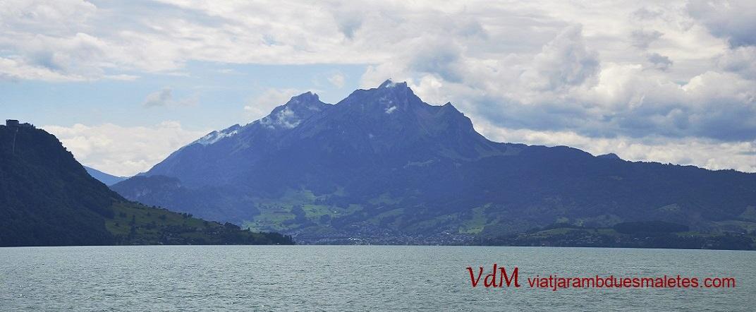 Mont Pilatus des de la muntanya Rigi