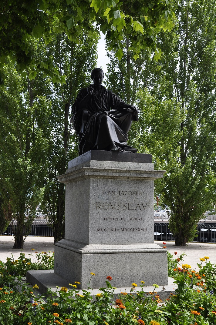 Monument de Jean-Jacques Rousseau de Ginebra