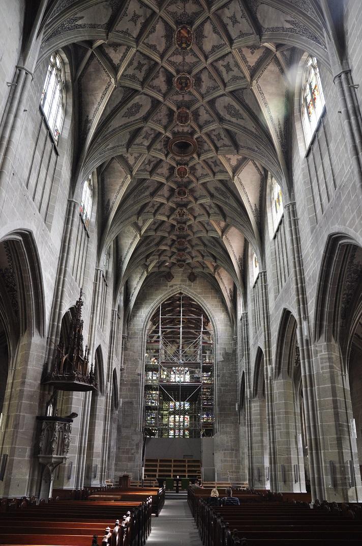 Nau central de la Catedral de Berna
