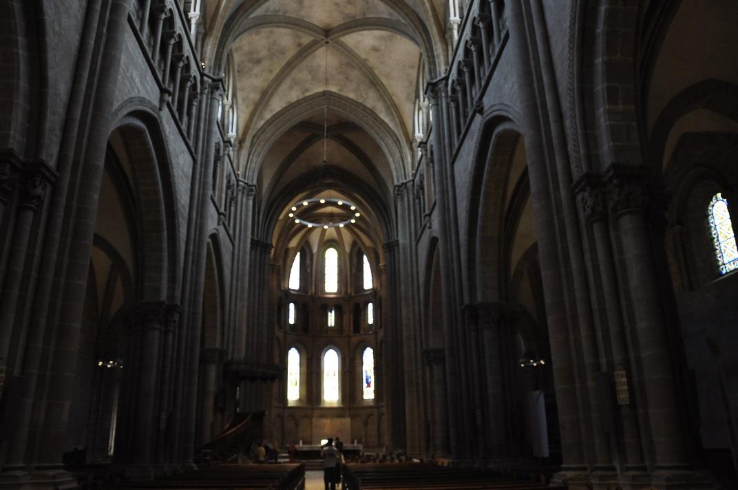 Nau central de la Catedral de Ginebra