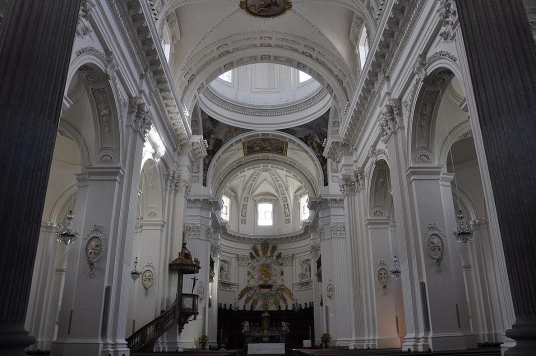 Nau central de la Catedral de Solothurn