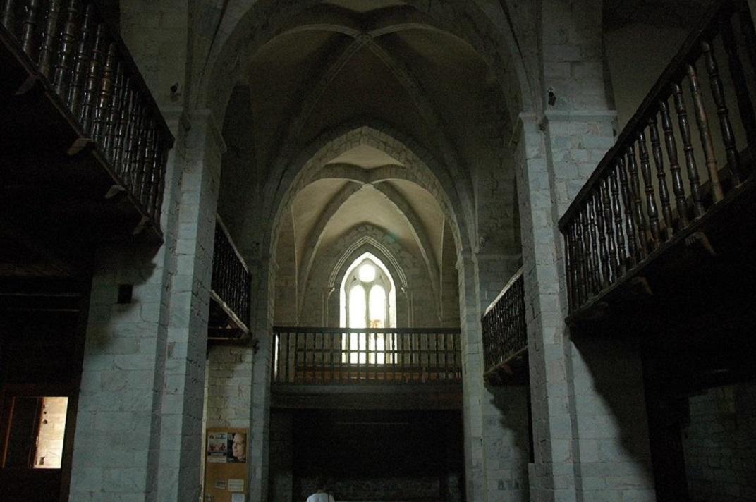 Nau central de l'església de Sant Andreu de Salardú