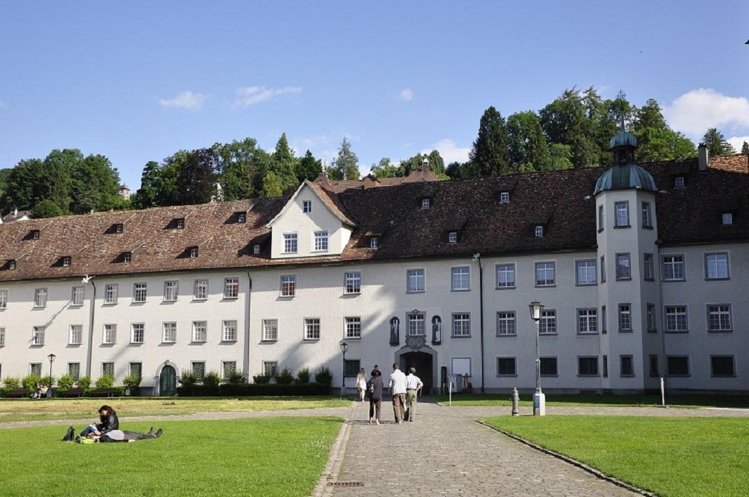Nous edificis del monestir de l'abadia de Sankt Gallen