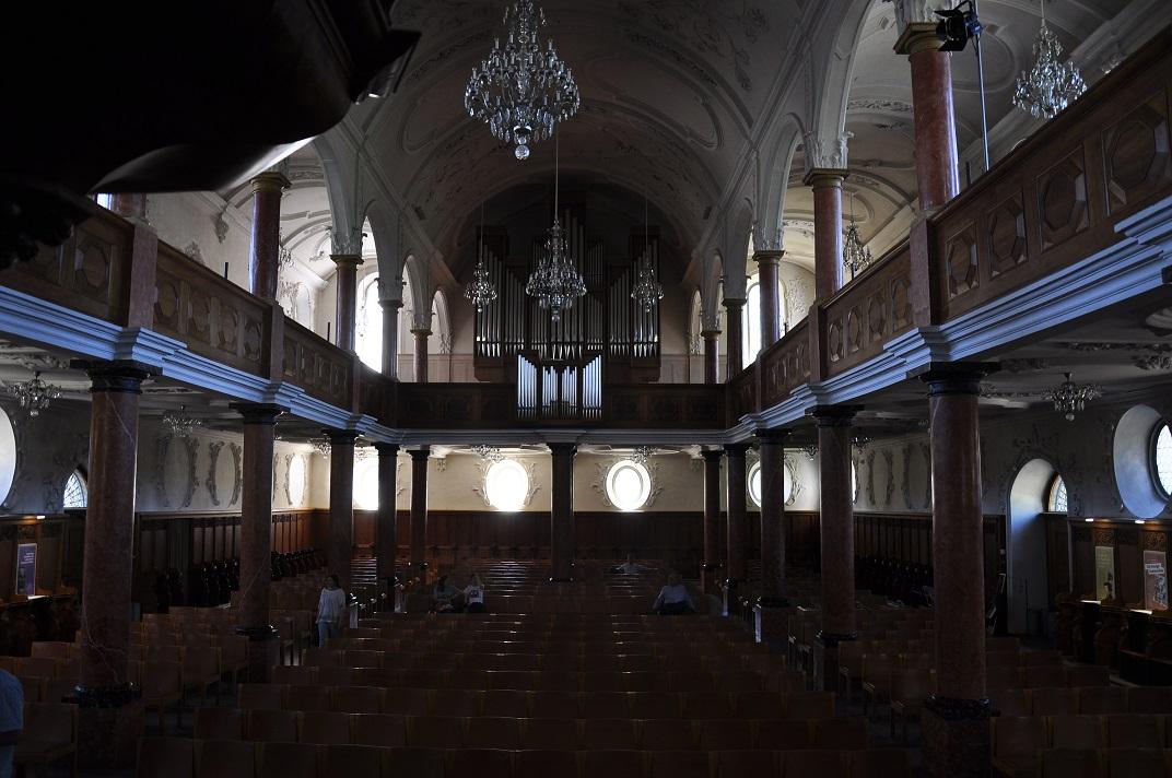 Orgue de l'església de Sant Pere de Zuric