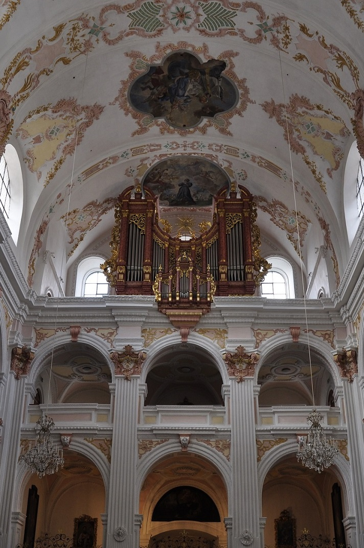 Orgue de l'església dels jesuïtes de Sant Francesc Xavier de Lucerna