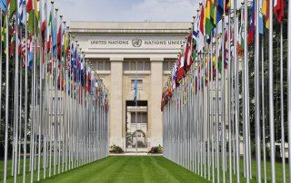 Palau de les Nacions del Parc de l'Ariana de Ginebra